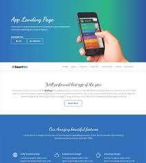 free mobile app template archives webthemez