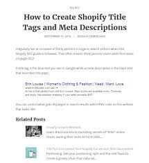 related blog posts u2013 ecommerce plugins for online stores u2013 shopify