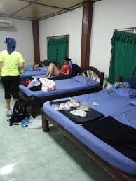 namtok thi lo su waterfall mingalaba shin we had two rooms each with 3 queen beds i am still really confused