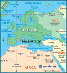 map of the islands balearic islands map geography of balearic islands map of