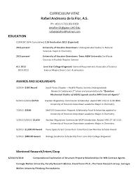 Popular CV-Resume R de la Flor 2015 Spring @FO51
