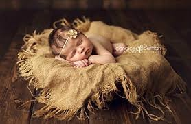newborn photography props burlap blanket newborn photography prop baby photo