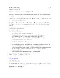Sample Inside Sales Resume by Sales Resumes Objectives Sample Objectives Resume Folder Operator