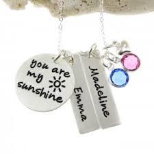 Personalized Hand Stamped Jewelry Jc Jewelry Design Babies U0026 Children Hand Stamped Jewelry