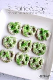 st patrick u0027s day chocolate covered pretzels here comes the sun