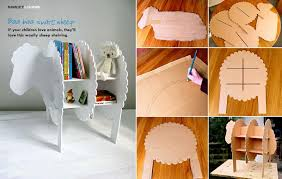 diy sheep bookshelves diy projects usefuldiy com