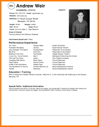 Resume Samples Restaurant by Attractive Design Ideas Modeling Resume Template 7 Modeling Resume