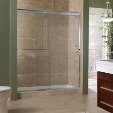 Sliding Bathroom Mirror Bathroom Sliding Shower Door With Bathroom Cabinet Design Plus