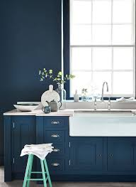 blue color kitchen cabinets design trend blue kitchen cabinets 30 ideas to get you started