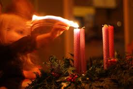 Advent Candle Lighting Readings Frontier Dreams Rhythm In Our Home The First Sunday In Advent