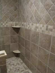 Shower Stall Tile Ideas Bathrooms Pinterest  Pinteres - Bathroom shower stall tile designs