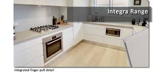 Flat Pack Kitchen Cabinets by Flatpack Kitchen Cabinets With Integrated Finger Pull By Custom