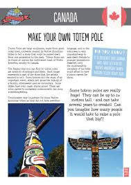 12 around the world in 80 days make your own totem pole