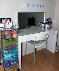 glass top vanity table glass top vanity table dressing diy ikea ncgeconference com
