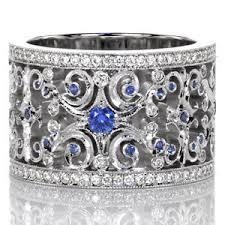 wedding bands cincinnati sapphire caledonia custom design rings jewelers
