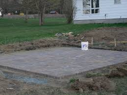 diy patio installation how to build a paver patio How To Install Pavers For A Patio
