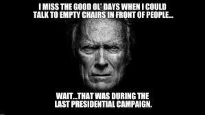 Clint Eastwood Chair Meme - clint eastwood black bg imgflip