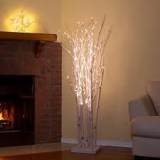 hi line gift ltd 160 led light birch tree reviews wayfair pertaining