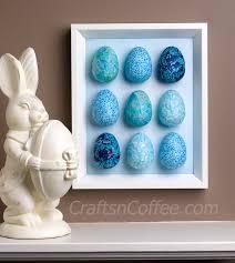 styrofoam easter eggs a craft idea diy decoupaged egg wall crafts n coffee