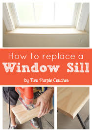 how to replace an interior window sill window sill window and