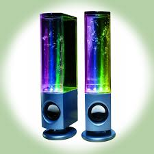 Coolest Speakers Soundmaster Dancing Water Speakers I Want Them But Like 10x