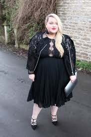christmas party wear the lbd asos dress lace plus size fashion