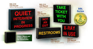 outdoor energy saving led signs with custom messages