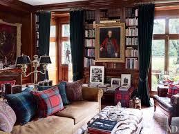 Ralph Lauren Style Decorating For Warm Cozy Retreats - Ralph lauren living room designs
