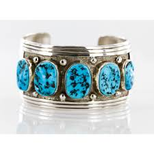 bracelet silver turquoise images Collectable handmade certified authentic navajo 925 sterling jpg