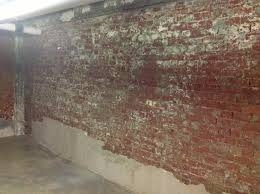 Efflorescence On Basement Walls Smart Design How To Remove Paint From Basement Walls Clean Black