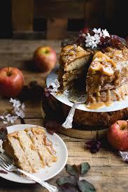 caramel apple upside down cake u2014 recipes hubs