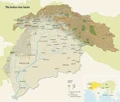 Himalayan Mountains Map The Indus River Basin Grid Arendal