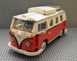 camper van lego bricks pix and panels lego review 10220 volkswagen t1 camper van