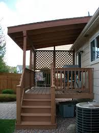 simple build a free standing deck design ideas http inside deck