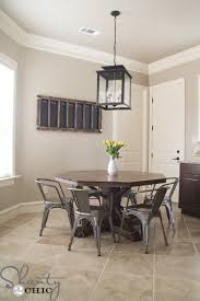 How To Make A Pedestal Table Restoration Hardware Inspired Dining Table For 110 Shanty 2 Chic