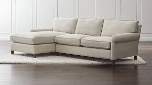 Apartment Sofa Sectional Montclair 2 Left Arm Chaise Roll Arm Sectional Sofa In