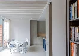 alexander martin u0027s london house extension has a window wall