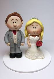 personalised wedding cake topper and mini topper bride and grooms