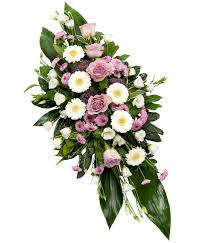 flowers for funerals lilac ended spray delivered with care designed with