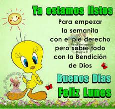Imagenes Buenos Dias Ya Es Lunes   buenos días feliz lunes imagen 9265 imágenes cool