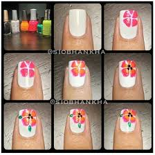 best 25 tropical flower nails ideas on pinterest tropical nail