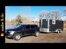 jeep wrangler cargo trailer cargo trailer to cer conversion weight towing capacity