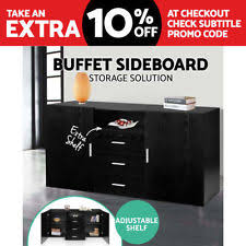 black sideboards and buffets ebay
