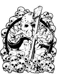 jason voorhees tattoo design by laneamania on deviantart