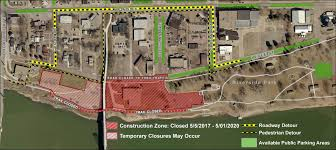 city of riverside zoning map riverside park parking lot and trail closure city of yankton sd