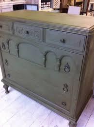Wooden Furniture Paint Maison Decor Gothic Dresser In Fabulous Olive Chalk Paint