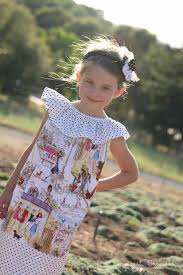 sleeveless peasant dress tutorial and the prairie rose pattern