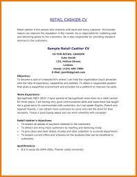 Restaurant Cashier Resume 100 Cashier Resume Responsibilities 6 Basic Resume Sample