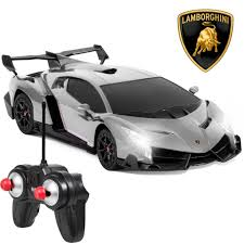 toy lamborghini 1 24 rc lamborghini veneno gray u2013 best choice products