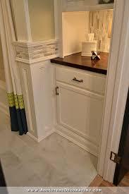 Bathroom Built In Storage Ideas Diy Bathroom Remodel Before After